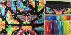 Piece, Love & Happiness!: Project Quilting 8.4:  Bright & Breezy Butterflies...