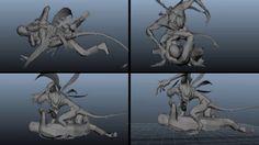 Dust - Creature Shot VFX Breakdown on Vimeo