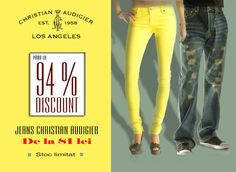 4% Reducere la Jeansi CHRISTIAN AUDIGIER