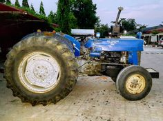Not all old stuff is cool but this is. #referb #reuse #Africa #tractor