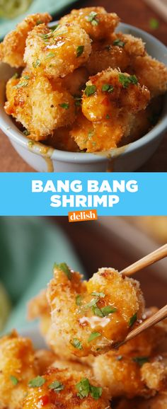 This Bang Bang Shrimp has a secret ingredient that makes it extra BANGIN'. Get the recipe from Delish.com.