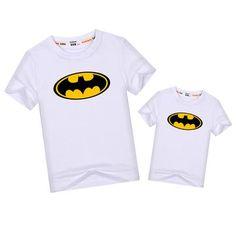 Batman Matching T-Shirts - 7 Colors – Cece Match Matching Family Outfits, Matching Shirts, Daddy, Batman, Unisex, Colors, T Shirt, Clothes, Tops