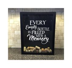 Every Empty Bottle is Filled with a Memory Wine by DecalPhanatics