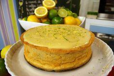 Torta Light de Limão | Receitas | Dia Dia