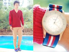 Red Dust (by David Guison) http://lookbook.nu/look/2906555-Red-Dust