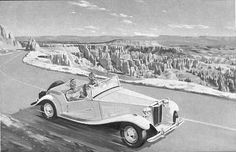 History of the MG TD - The MG T-types Type Web, Classic Cars Online, History, Historia