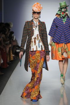 ITC's ETHICAL FASHION INITIATIVE and ALTAROMA BRING AFRICA TO ROME | AltaRomAltaModa Luglio 2013 | AltaRoma