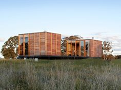 ARKit Prefab Eco-Homes Sit Light on the Earth