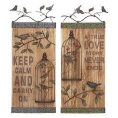 Bird Cage Wall Decor.