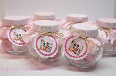 Vasetti confettosi per il primo compleanno di Lucia Stella