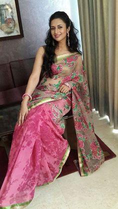 Divyanka Tripathi at the launch of Aradhana Fashions