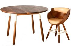 ZUN Dining Table and chair. This may be purchased on ecofirstart.com