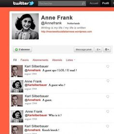 Anne Franks Twitter (l�st fra bund til top)
