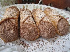 #Chocolate #Cannoli