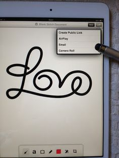 How to use iPad to create your own designs to Silhouette