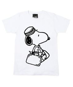 BLACK PEANUTS / 「The 100 Faces of SNOOPY」PORTER T-SHIRT MEN'S (Tシャツ・カットソー)