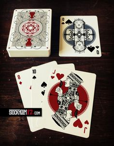 No. 17.  playing card deck by Lorenzo Gaggiotti.  It is not for sale now, it is a promotional item for CardLauncher.com that will be launched the 15th of August.