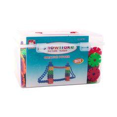 Creative Snowflake Building Blocks Set(435pc), 41.6% discount @ PatPat Mom Baby Shopping App