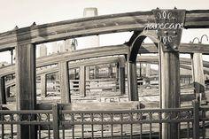 8x10 Train Bridges Liberty Park. $15.00, via Etsy.