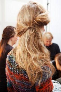 bohemian hairstyle #jennygr