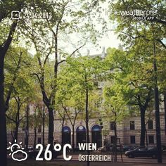 fühlt sich nicht an wie 26°C :( #weather #instaweather #instaweatherpro  #sky #outdoors #nature  #instagood #photooftheday #instamood #picoftheday #instadaily #photo #instacool #instapic #picture #pic @instaweatherpro #place #earth #world #wien #österreich #day #spring #skypainters #at