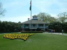Wish I were here this week. Augusta National Country Cub and the Masters