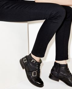 Short boots with buckles - Shoes - The Kooples