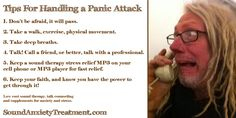 Tips for Surviving a Panic Attack.