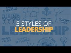 5 Different Types of Leadership Styles | Brian Tracy - YouTube