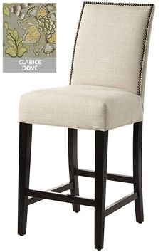 Custom Straight-Back Counter Stool FINAL CHOICE