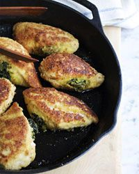 Basil-Stuffed Chicken Breasts Recipe from Food & Wine