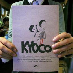 KyoCo vol.0. ¥525, via Etsy.