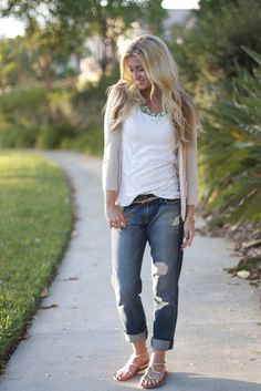 Style for over 35 ~ Boyfriend jeans