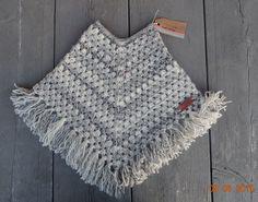 mijn eigen creatie - crochet kids poncho