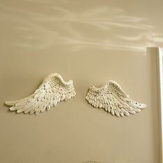 angel wings, these would be fabulous hanging on the wall in bedroom