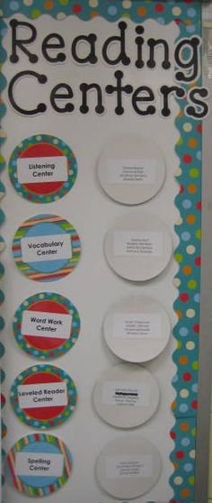 Having a variety of reading centers will give students a print-rich environment