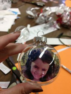 Mrs. Goff's Pre-K Tales: Personalized Christmas Balls