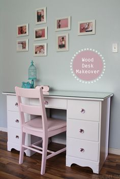 Learn how to give new life to wood furniture! You can transform furniture with a fresh coat of paint! Step by step tutorial on how to paint furniture.