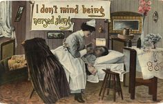 The Evolution of the Nurse Stereotype via Postcards: From Drunk to Saint to Sexpot to Modern Medical Professional. A postcard exhibit at the National Library of Medicine shows how the cultural perception of nurses has changed over the decades. Vintage Nurse, Vintage Medical, Private Duty Nursing, Nurse Halloween Costume, History Of Nursing, Nurse Art, Modern Halloween, Happy Nurses Week, Nurse Quotes