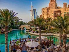 Souk Madinat Jumeirah, Dubai. The view was amazing last night!
