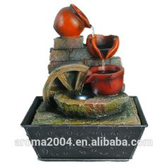 Fujian resin waterfall indoor fountain home crafts, View resin crafts, aroma Product Details from Xiamen Aroma Trade Co., Limited on Alibaba.com