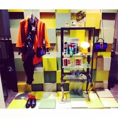 #Hanitashopping  Hanita Multicolor Corner in Foligno, with CAFFE' MODA RINALDI