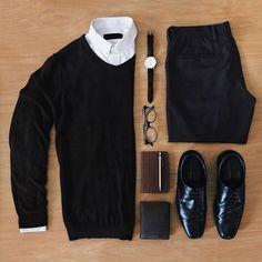 Black and white grid from @dhiptadi ✨ Pages to upgrade your style @stylishmanmag ✅ @shopthatgrid ✅ Supernatural Style | https://styletrendsblog.blogspo