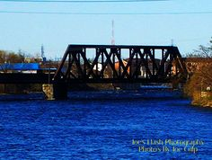 CN trestle over the Moira River Belleville Ontario
