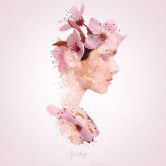 changing seasons - spring portrait