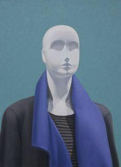 "Saatchi Art Artist Jinho Kee; Painting, ""woman"" #art #SouthKorea, #Photorealism, #mannequin, #artificiality, #stilllife, #human, #people, #JinhoKee #comunication #showwindow #exhibition #oilpainting #painting #finearts #saatchi"