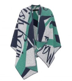 Burberry Prorsum - Wool and cashmere poncho - mytheresa.com