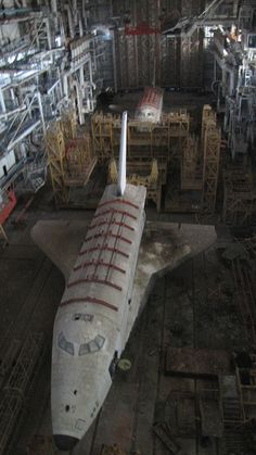 The abandoned russian Buran shuttle Space Telescope, Space Shuttle, Space Rocket, Space And Astronomy, Space Program, Our Solar System, Space Travel, Space Exploration, Space Crafts