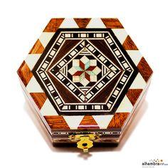 Joyero hexagonal 6 cm
