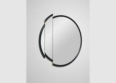 Split Mirror Round  _by Lee Broom _*2015